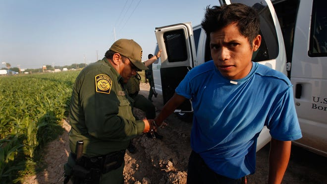 Arizona's immigration hardliners would have us believe the border with Mexico is a sieve. The truth is much less alarmist.