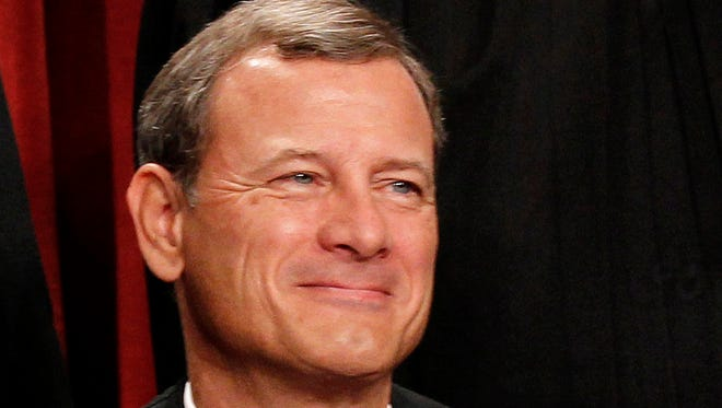 Chief Justice John Roberts says free speech trumps concerns about campaign contributions.