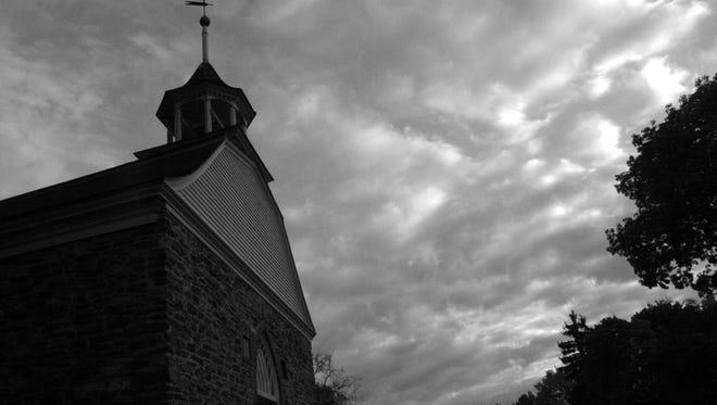 The Old Dutch Church in Sleepy Hollow.