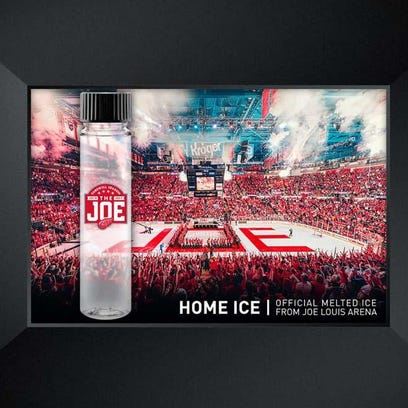 Wings sell melted ice vials from The Joe for $85