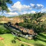 Flood damage in Wimberley