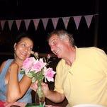 Valerie Raffetto and her husbdan, Giancarlo Manfredini.