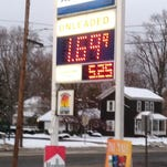 Regular gasoline was selling for $1.69 a gallon on Monday in Charlotte.