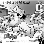 Pete Rose cartoon