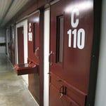 A cell block at Guantanamo