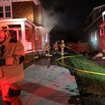Fire damages Plymouth home