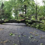 Thousands still without power in Morris County; more rain in the forecast