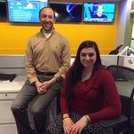 Asbury Park Press reporters Michael Diamond (a GenXer) and Kala Kachmar (a millennial).