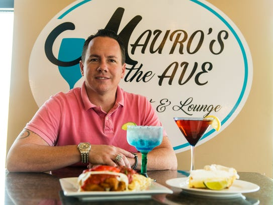 Jim Mauro at Mauro's on the Ave on Monday, May 8.