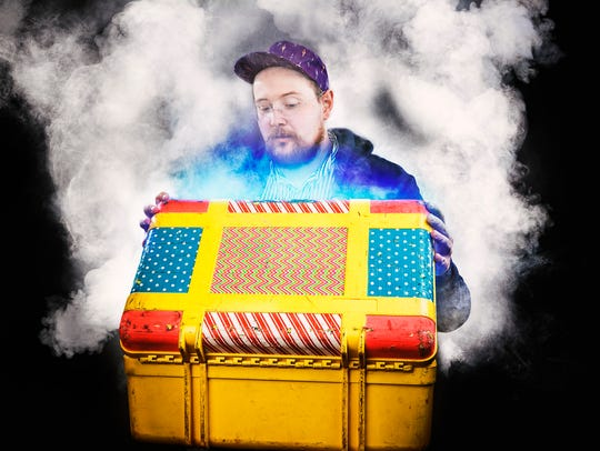 Dan Deacon visits ArtsRiot in Burlington on Tuesday.