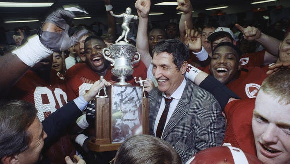 The 1992 Alabama Crimson Tide went 13-0 in winning