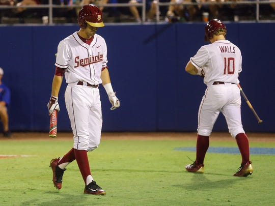 Jackson Lueck and Taylor Walls both return to bolster a good FSU batting line-up.