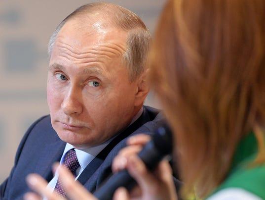 AP RUSSIA PUTIN'S CAMPAIGN I RUS