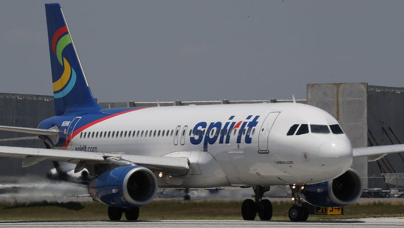 Spirit Airlines flight out of Metro spews plane parts into yards