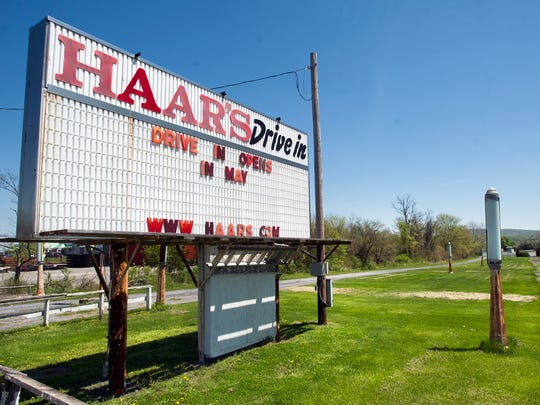 Haar's Drive-In in Dillsburg opens for the 2017 season the first weekend in May.