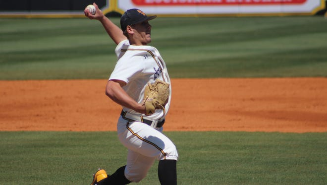 Southern Miss' Kirk McCarty was selected in the seventh round of the MLB draft Tuesday.