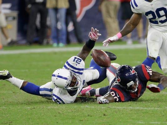 Colts Texans Football (2)