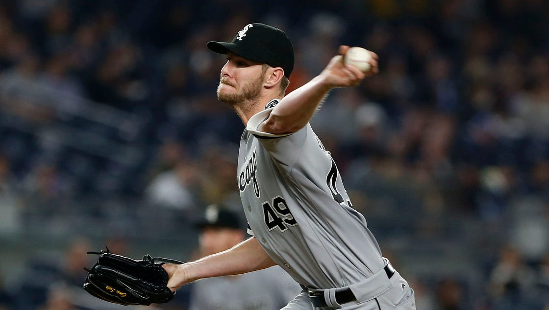 Chris Sale cruises to 8th win as White Sox beat Yankees