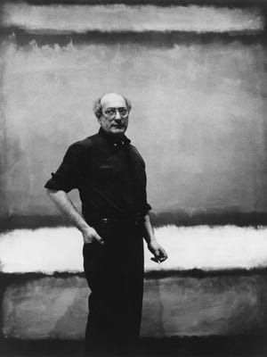 """A painting is not about an experience,"" said abstract expressionist painter Mark Rothko, here in a 1960 photograph attributed to Regina Bogat. ""It is an experience."""