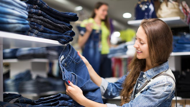 Historically, October has been one of the best times to buy jeans.