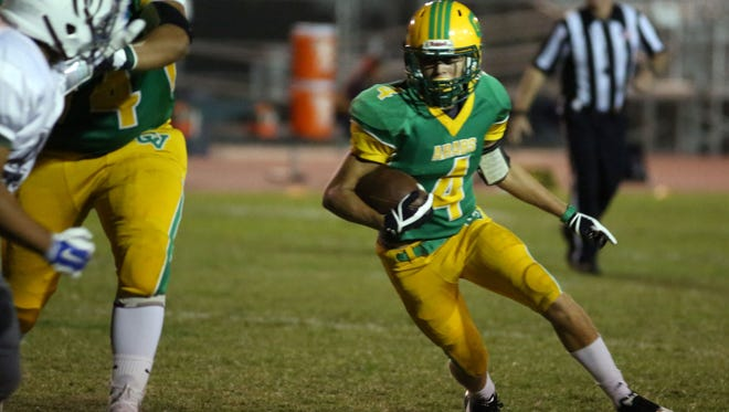 Coachella Valley and Rancho Mirage football action on Friday, October 6, 2017 in Thermal.