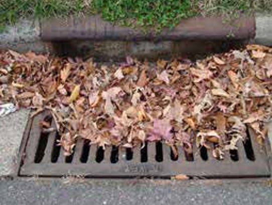 Keep leaves out of the gutter.