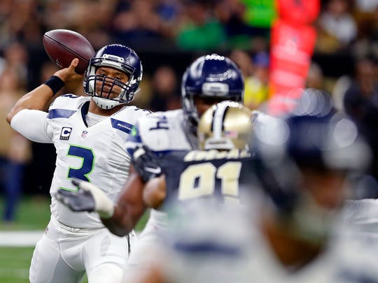 Due to leg injuries, Russell Wilson has been limited to 24 rushes for 44 yards. But he has long been working on becoming an efficient pocket passer. In 2014, he ran 118 times for 849 yards and six TDs.