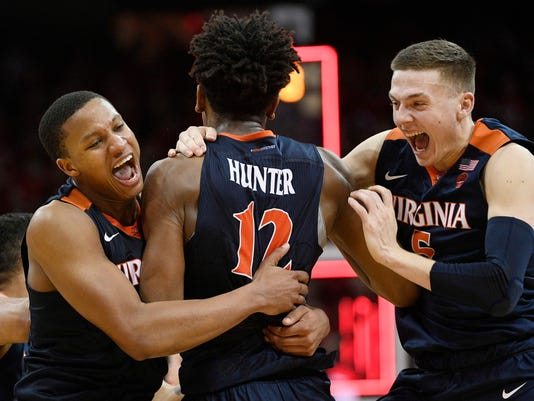 NCAA Basketball: Virginia at Louisville