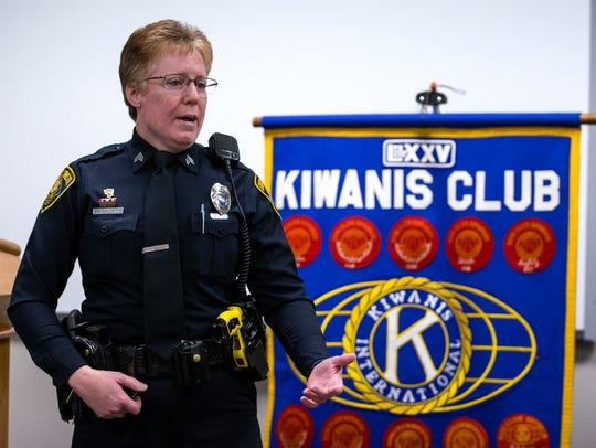Corpus Christi Police Senior Officer Samantha Baldwin