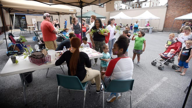 The Lebanon Family Health Service, celebrated summer Wednesday, June 15, 2016, with fun and food. The program featured face painting, Risser-Marvel Farm Market, dairy princesses, educational opportunities about early intervention, farm to table recipes, Headstart and other programs offered by Lebanon Family Health Services.