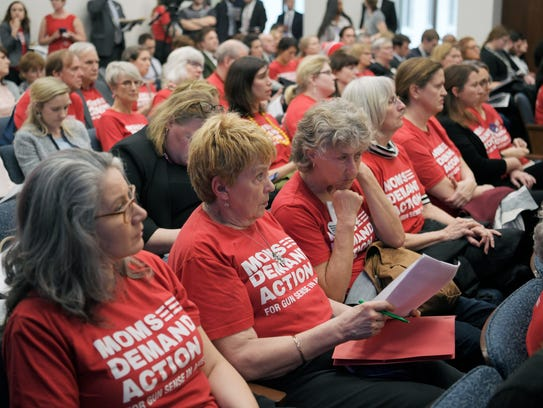 Moms Demand Action for Gun Sense in America volunteers