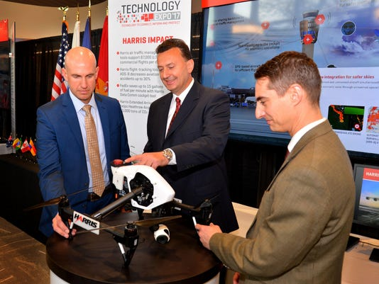 Harris drone unmanned aircraft grant 10.JPG