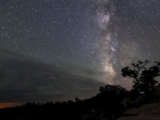Milky Way at the Grand Canyon