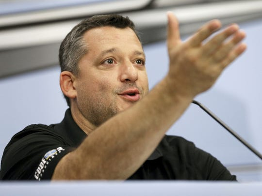 Tony Stewart will bring his All Star Circuit of Champions to the are dirt track circuit this week. AP FILE PHOTO