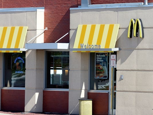 The McDonald's at York Crossings Shopping Center will join others in the chain in serving all-day breakfast starting Tuesday.
