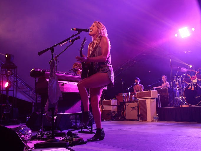 Grace Potter performs at Nitefall on the River on July