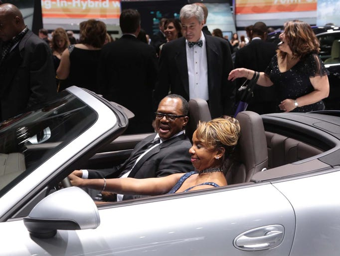 2015 Detroit Auto Show Charity Preview Gallery 1