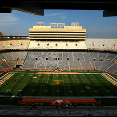 Neyland Stadium looks quite a bit different without