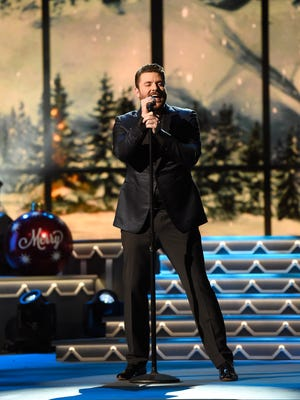 Chris Young performs at the CMA Country Christmas at the Opry House.  Tuesday Nov. 8, 2016, in Nashville, Tenn.