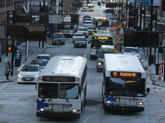 Public transportation is an important component of the Cincinnati region's economic vitality, two regular Metro riders write.