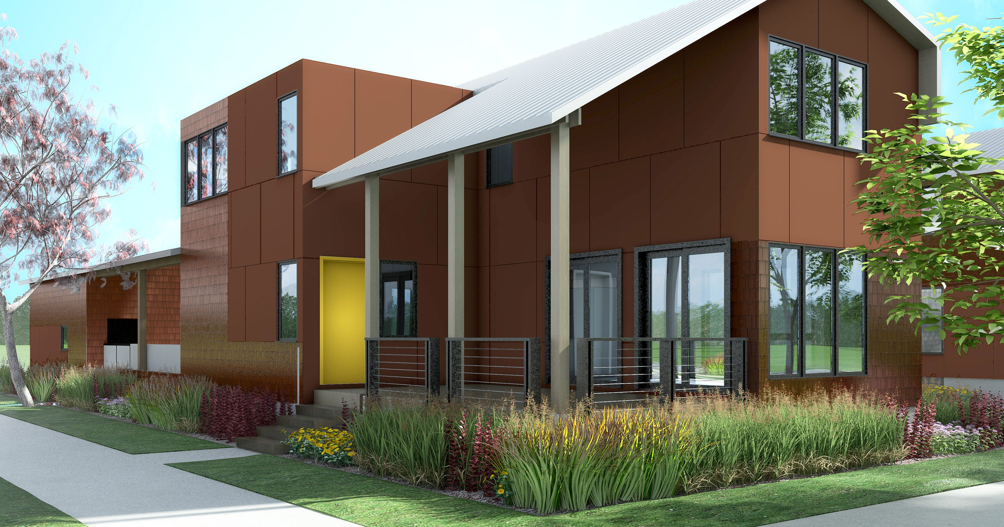 Eco homes adds single family homes in midtown detroit for Eco house builders
