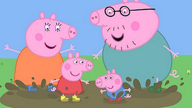 Peppa Pig is coming to Louisiana.