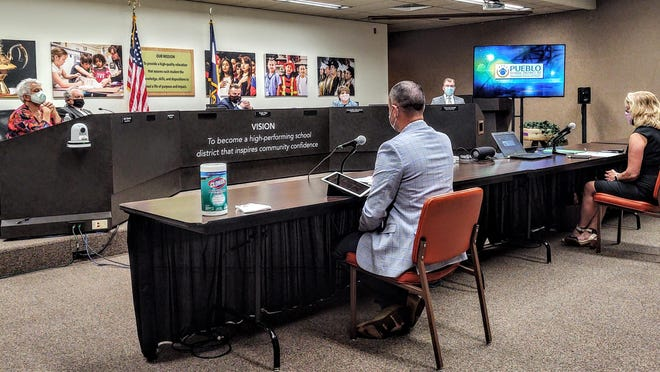 The D60 board of education has resumed in-person meetings, with social distancing and limited attendance. All meetings are livestreamed and available for viewing on the district's Vimeo channel.