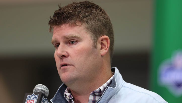 Titans general manager Jon Robinson
