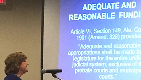 Acting Alabama Chief Justice Lyn Stuart discusses the