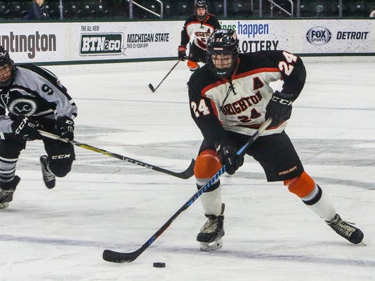 Jake Crespi was named Mr. Hockey in 2016-17 after leading