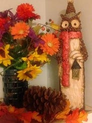 This owl statuette is one of Tina Martz's most treasured