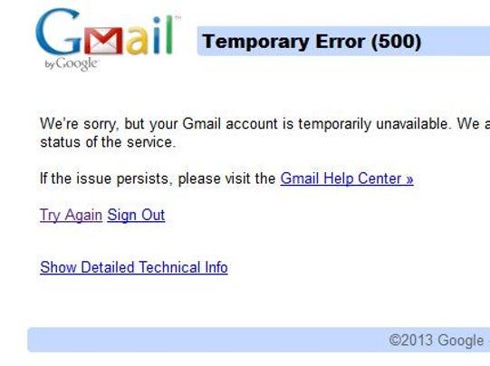 GmailGoesDown