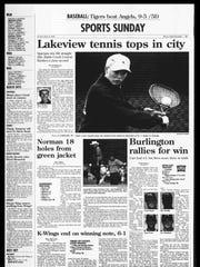 BC Sports History: Week of April 14, 1996