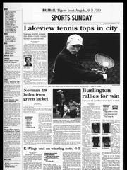 BC Sports History: Week of April 14, 1996